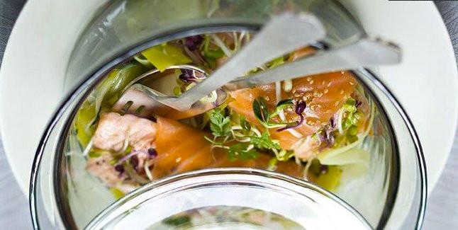 Bio cocotte aux deux saumons