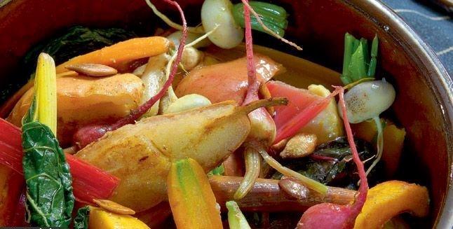 Ragous de légumes de saison aux poires