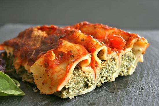 Bigoli en saucerecettes italiennes recettes italiennes - Cuisine italienne cannelloni ...