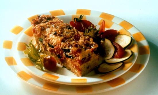 Gratin de légumes méditerranéens