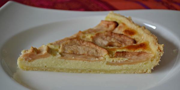 Gâteau de pommes au mascarpone