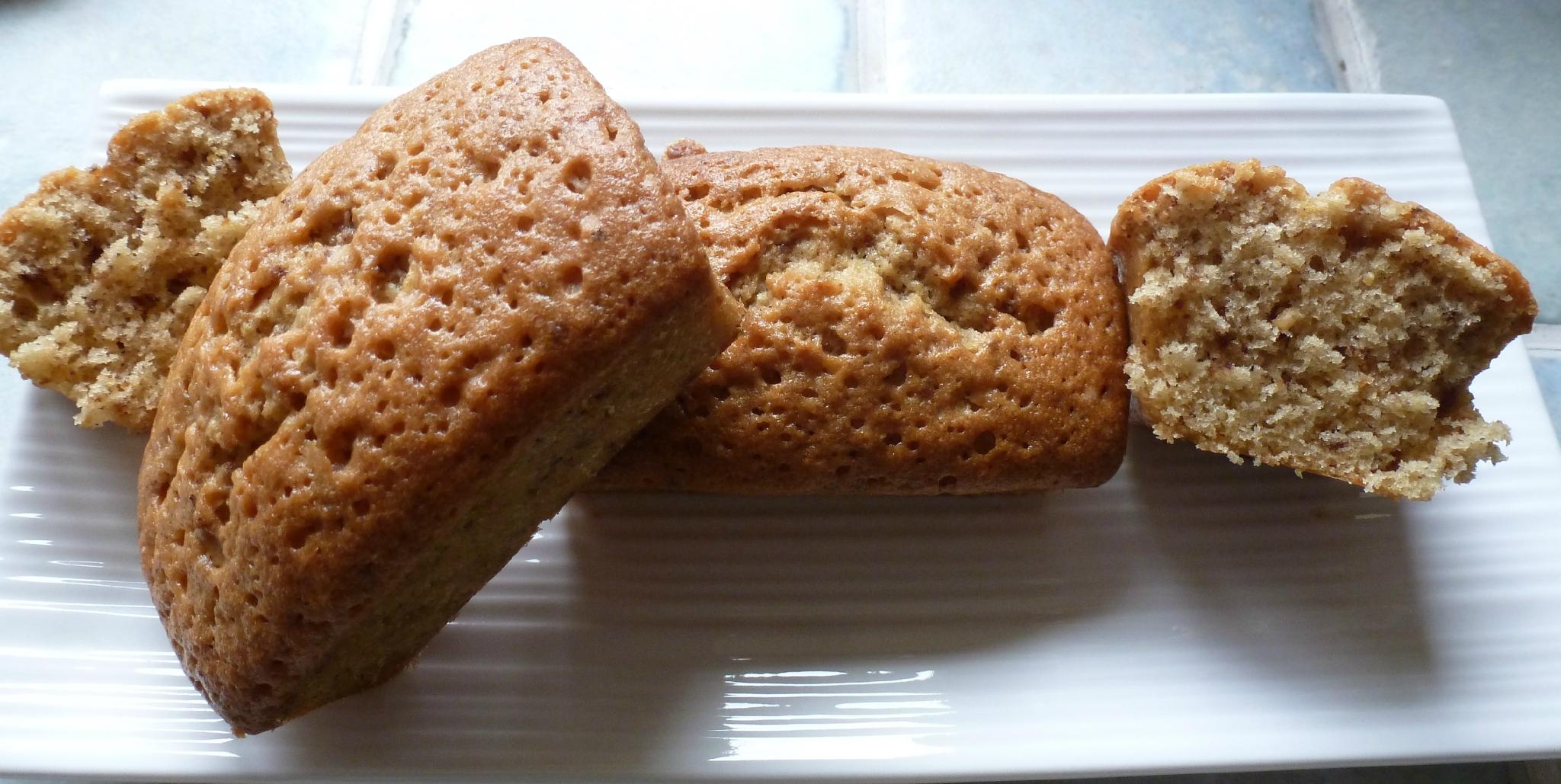 Mini-cakes au café