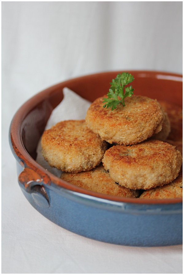 Croquettes au thon & ricotta