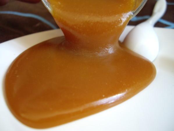 Sauce au caramel beurre salé