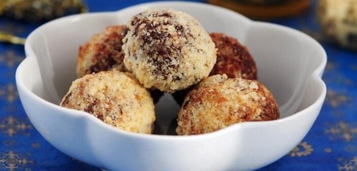 truffes aux amaretti
