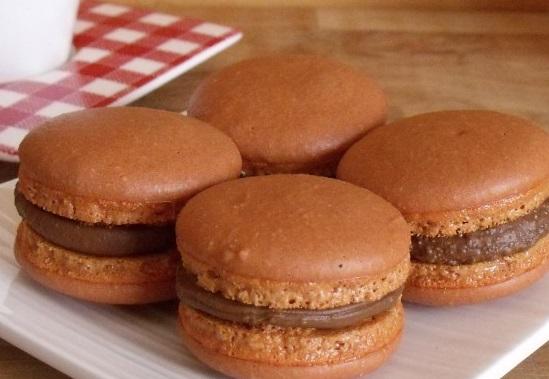 Macarons praliné