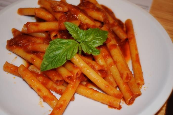 ziti à la sauce tomate