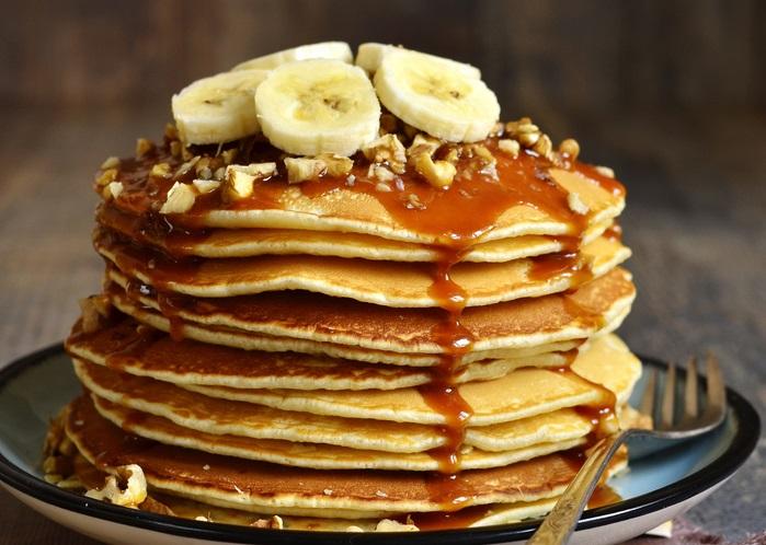 Crêpe style pancake