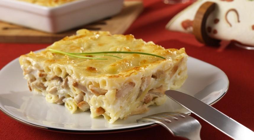 Gratin de Pâtes au Poulet et fromage