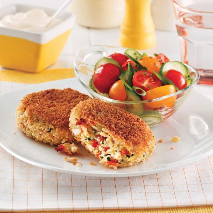croquette-de-poulet-aux-tomates-sechees