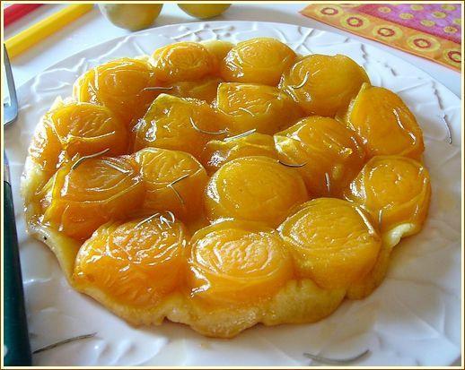 Tarte tatin abricot