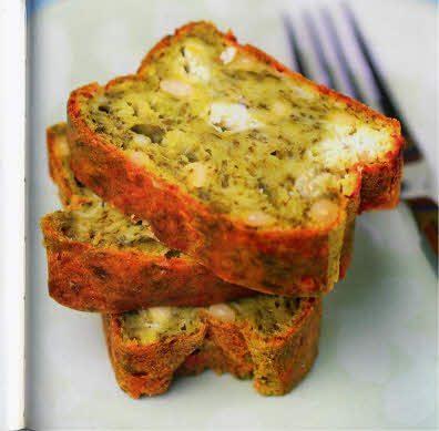 Cake aux épinards et au Boursin