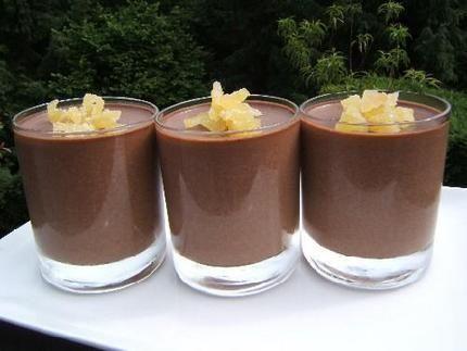 gelée de chocolat aux noisettes