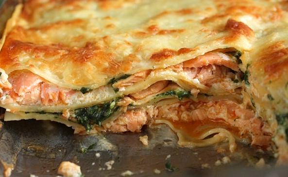 Lasagnes au Saumon et Mascarpone