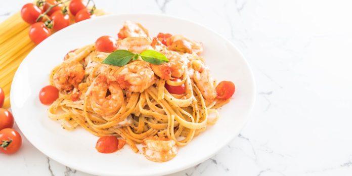 Spaghetti aux langoustines