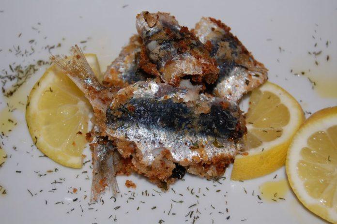 Sardines à beccafico