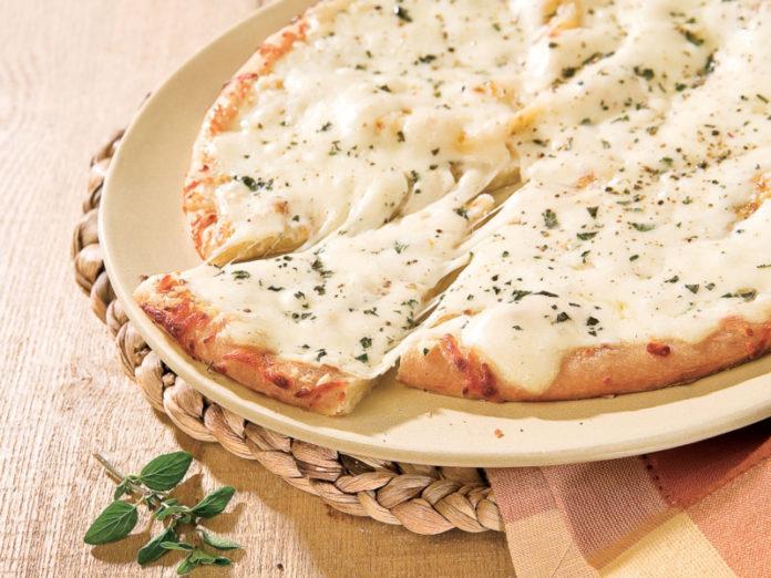 Pizza ricotta et oignons